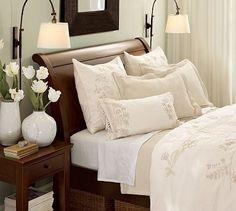 Master bedroom bed scheme