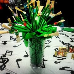 "I am not a flower person, but this a bouquet that I would love! Bassoon Reeds,"" from Quirky Bouquets Better Than Flowers"" -- Makes me smile! Oboe, Bassoon, Band Mom, Band Nerd, English Horn, My Flower, Flowers, Gift Bouquet, Music Crafts"
