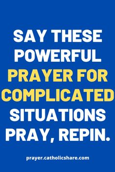 Say these powerful prayer for complicated situations. #Complications #God #Jesus #catholicfaith #April2021 #Prayerinspiration #Powerful I Feel Lost, Feeling Lost, Miracle Prayer, Set Me Free, Power Of Prayer, God Jesus, Jesus Quotes, Names Of Jesus, Make Sense
