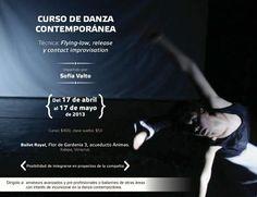 Curso de danza contemporánea con Sofía Valto en Xalapa