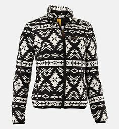 Peak Performance Joyce liner jacket. I was planning on getting this for fall and in navy blue, but I found it marked down to an insanely low price in this printed version that I had been considering too and decided to get it now. Bought in January 2014.