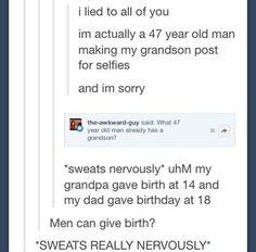 My dad gave birthday