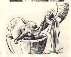 Dumbo: 40 Original Concept Art Collection - Daily Art, Movie Art