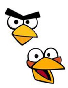 Angry Birds Party Ideas and Party Printables via Kids Party Ideas Cumpleaños Angry Birds, Festa Angry Birds, Templates Printable Free, Free Printables, Bird Birthday Parties, Birthday Ideas, Homemade Face Paints, Bird Template, Bird Free
