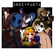 """""""CreepyPASTA"""" by chazy-legolas-gal ❤ liked on Polyvore featuring art"""