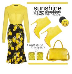"""Sunshine"" by conch-lady ❤ liked on Polyvore featuring Dolce&Gabbana, Christian Louboutin, Ghibli, Tiffany & Co., women's clothing, women, female, woman, misses and juniors"