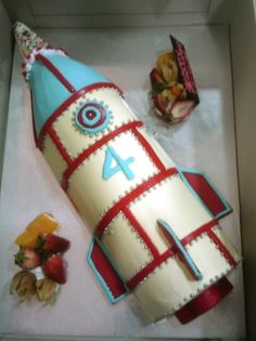another rocket cake