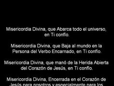 LETANÍAS DE LA DIVINA MISERICORDIA - YouTube
