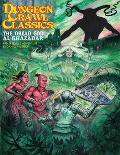 Dungeon Crawl Classics #90: Dread God Al-Khazadar - Goodman Games | DCC RPG | DriveThruRPG.com