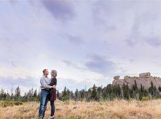 Vedauwoo couples anniversary photography session near Cheyenne wyoming