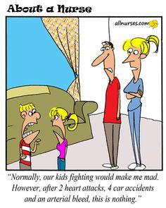 Cartoon: Happy Father's Day! - About A Nurse - Nursing Cartoon Series Nurse Humor