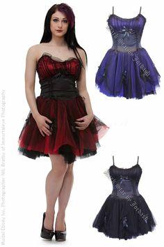 http://www.the-gothic-shop.co.uk/qadira-satin-mesh-cincher-dress-p-3663.html