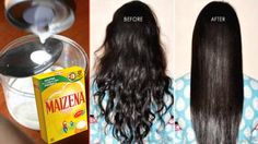 Mascarilla regeneradora del cabello con maizena, Prúebala te soprenderán...