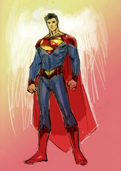 Earth 2 Superman by Jim Lee *