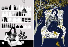 Karolin Schnoor illustrations