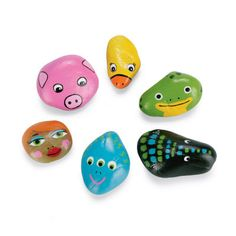 Play Outside Pet Rocks  This is a great way to get kids outside and explore their surroundings. Have them search for their new pet rocks around their yard & neighborhood before getting back together for a fun painting party.