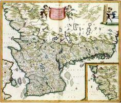 ACCURATISSIMA ANGLIAE SCOTIAE ET Hiberniae TAB. De ... in lucem edita à CAROLO ALLARD. - Memory of the Netherlands