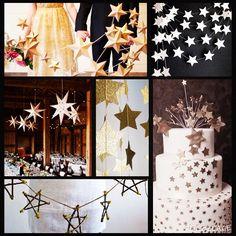 お星さまモチーフもかわいすぎるヽ(´▽`)ノ 式も夕方からだし、テーマにも合ってる気がして記録。  #結婚準備#プレ花嫁#結婚式#花嫁#花嫁準備#手作り#誕生日婚#手作り#ナチュラルウェディング#北欧ウェディング#星#star#会場装花#装花