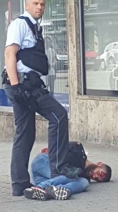 2016/7/24 - 1 killed, 2 injured in machete in Berlin. Photo is of purported attacker. Not thought to be related to terrorism.