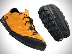 Foldable travel shoes from Timberland!