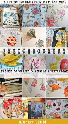 Sketchbookery- Mary Ann's latest e-course. love