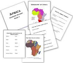 Africa Unit: Basic Facts About Africa - Homeschool Den