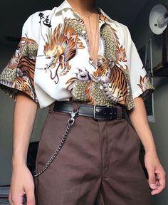 Fashion and streetwear inspiration Aesthetic Fashion, Aesthetic Clothes, Look Fashion, 90s Fashion, Korean Fashion, Fashion Outfits, Fashion Trends, Urban Aesthetic, Retro Fashion Mens
