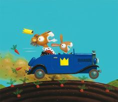 The Kings Car by Leo Timmers, via Behance - http://www.behance.net/gallery/The-Kings-Car/4473091