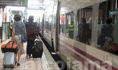 Fotos desde el tren | Alcoiama Blog: Cositas de andar por casa: RECETAS DE COCINA, FOTOS.