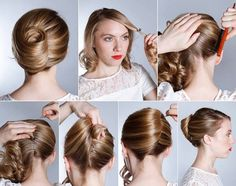 101 Easy DIY Hairstyles for Medium and Long Hair to snatch attention - - Frisuren Dance Hairstyles, Twist Hairstyles, Cool Hairstyles, Hairdos, Curled Hairstyles, Vintage Hairstyles, Wedding Hairstyles, Hair Up Styles, Medium Hair Styles