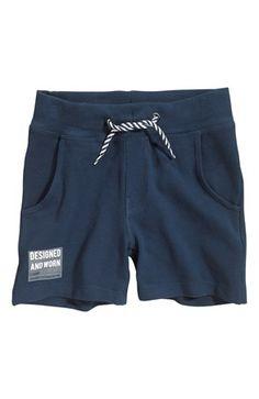 De sejeste Name it Sweatshirtshorts Gank Mørkeblå Name it Shorts til Børn & teenager i dejlige materialer