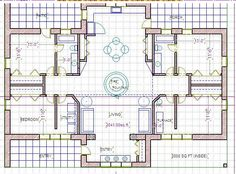 a habitat for humanity straw bale house plan 726 sq ft Small