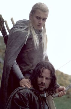 Lord of the Rings -- Aragorn you are perfection.