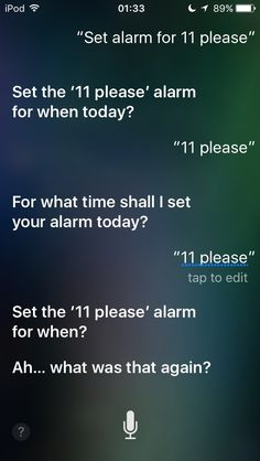 21 Times Siri Wanted To Quit Her Job