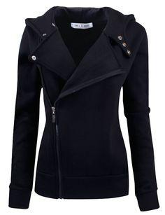 Ware Women Fleece Zip Up Jacket. Great twist on your average fleece jacket!