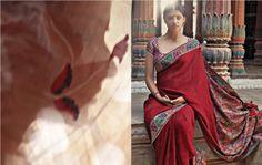 Elements Asia Sarees, Asia, Fashion, Moda, Fashion Styles, Fashion Illustrations