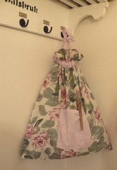 Pyykkipussi vanhasta tyynyliinasta - MitäTekis? - Vuodatus.net