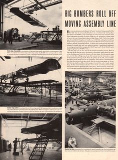 1942 Article on the Consolidated B24 Liberator by catchingcanaries, $8.00