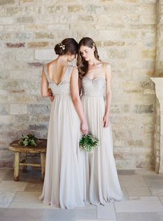 Dreamy Jenny Yoo bridesmaids' gowns: http://www.stylemepretty.com/2015/04/22/designer-spotlight-from-the-smp-look-book-3/