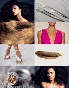 Guild Hunters - Andromeda Vampires, Brave 2012, Nalini Singh, Angels Blood, Fandoms, Nerd Geek, Book Characters, Photomontage, Character Inspiration