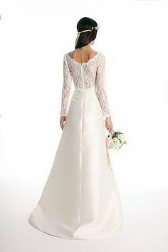 Elegant Long sleeve lace princess wedding dress, Joy Collection by Barbara Kavchok- Eugenia Couture