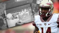 De'andre Johnson Video — Florida State Cuts Quarterback From Football Team After Clip Of Him Punching Woman Surfaces Celebrity Fitness, Celebrity Workout, Celebrity News, Football Program, Football Team, Football Helmets, Radar Online, Stay Fit, In Hollywood