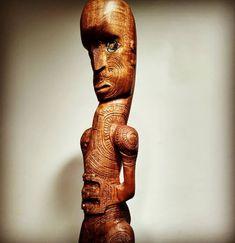 Mahogany Māori tekoteko Buddha, Statue, Inspiration, Maori, Biblical Inspiration, Sculptures, Inspirational, Inhalation, Sculpture