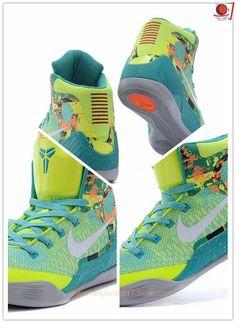 Womens Fluorescent green 108315 Nike Kobe 9 Elite Outlet Sale Kobe 9, Cheap Shoes Online, Air Jordan Shoes, Air Jordans, Nike Air, Sneakers Nike, Sport, Green, Shoes Outlet