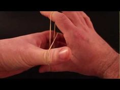 How to: Best rubber band magic trick EVER! - YouTube