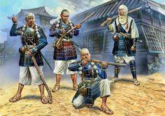 Japanese warrior monks