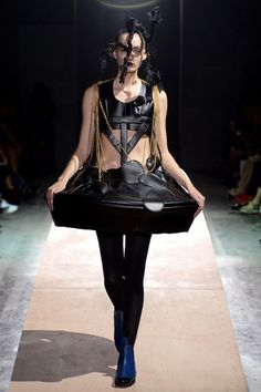 Comme des Garçons Spring 2014 Ready-to-Wear Monumental Collection: Kawakubo redefining  what fashion design is.