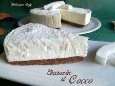 Cheesecake al Cocco un dolce estivo e gustoso