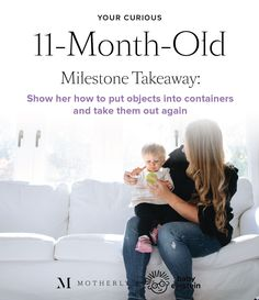 Monthly baby milestones - 11-month-old infant development