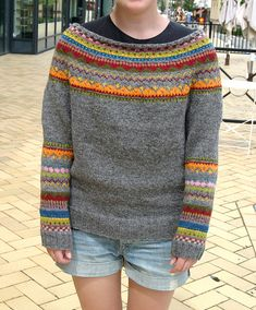 """Ravelry: hall0nmojs """"Mein erster Pullover"""
